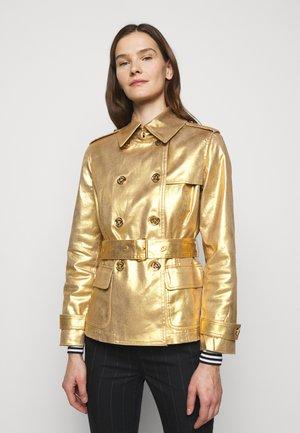 Lett jakke - gold