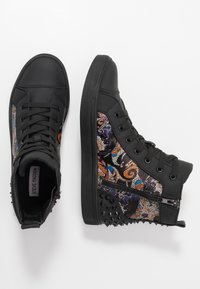 Steve Madden - CHAOS - Sneakersy wysokie - blue/multicolor - 1