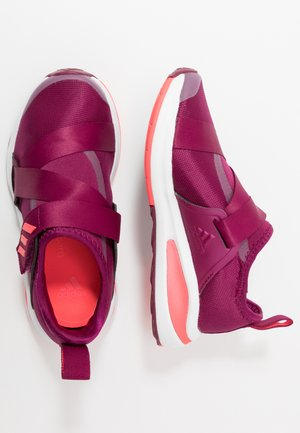 FORTARUN X UNISEX - Neutral running shoes - power berry/signal pink/footwear white