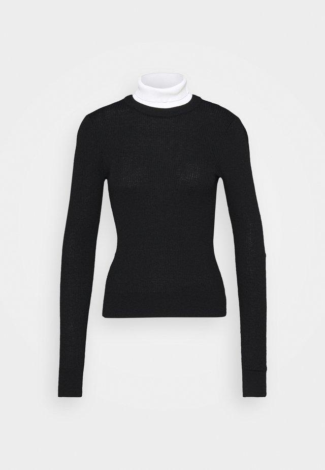 AMBRA - Sweter - schwarz