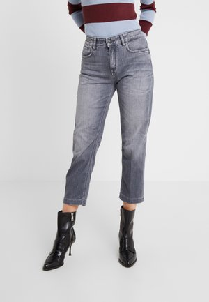 PASS - Jeansy Straight Leg - grey denim