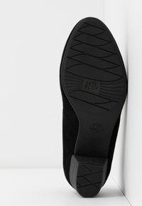 Jana - COURT SHOE - Classic heels - black - 6