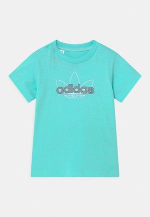 UNISEX - T-shirts print - turquoise