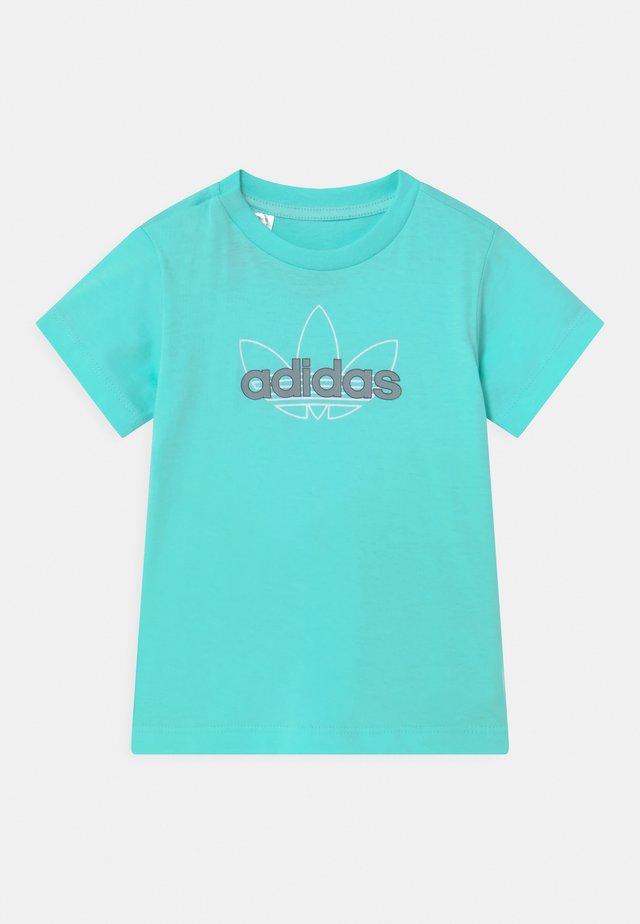 UNISEX - Print T-shirt - turquoise