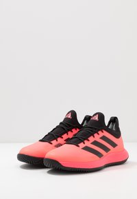 adidas Performance - DEFIANT GENERATION - Tenisové boty na všechny povrchy - signal pink/core black - 2