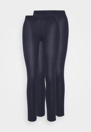 2 PACK  - Leggings - Trousers - dark blue