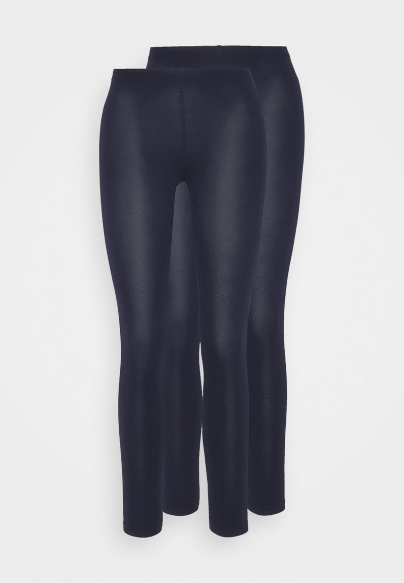 Even&Odd Petite - 2 PACK  - Leggings - Trousers - dark blue