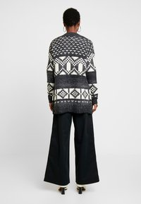 GAP - FAIRISLE OPEN - Cardigan - dark charcoal - 2