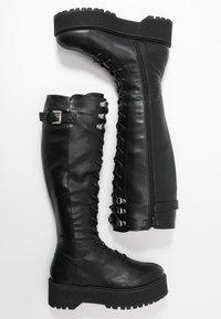 Even&Odd - Botas con cordones - black - 3
