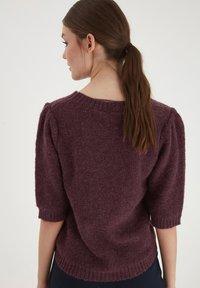 ICHI - IHOLTA  - Print T-shirt - crushed violets - 2