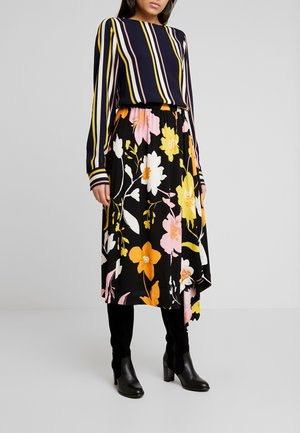 SLFCADENCE SKIRT - A-line skirt - black
