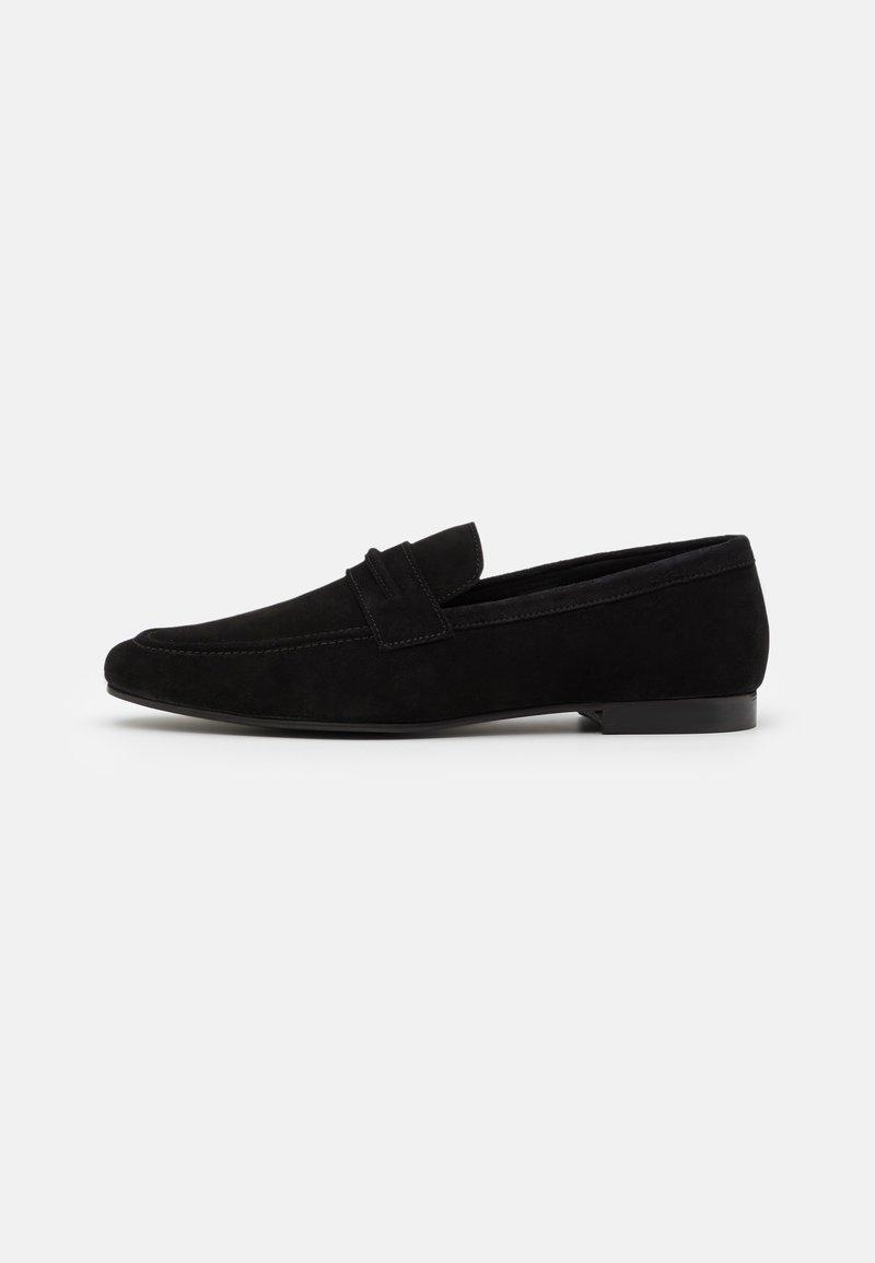 Zign - LEATHER - Scarpe senza lacci - black