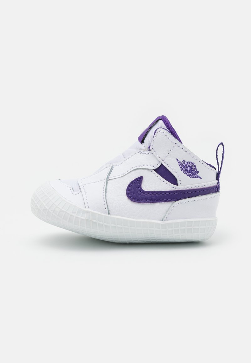 Jordan - 1 CRIB UNISEX - Scarpe da fitness - white/court purple