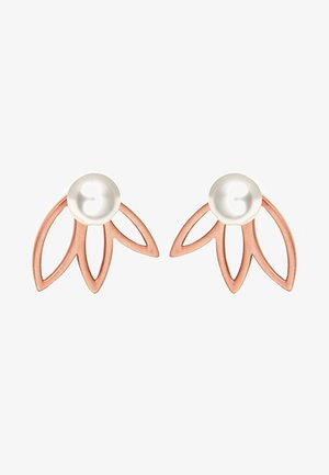 OHRSCHMUCK FLORA - Earrings - white