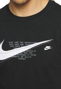 Nike Sportswear - COURT TEE - T-shirt print - black - 4