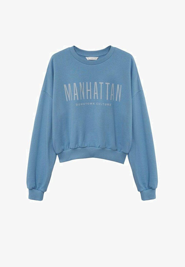 Mango - Sweatshirt - dark blue