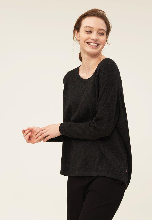 Pullover - dark gray melange