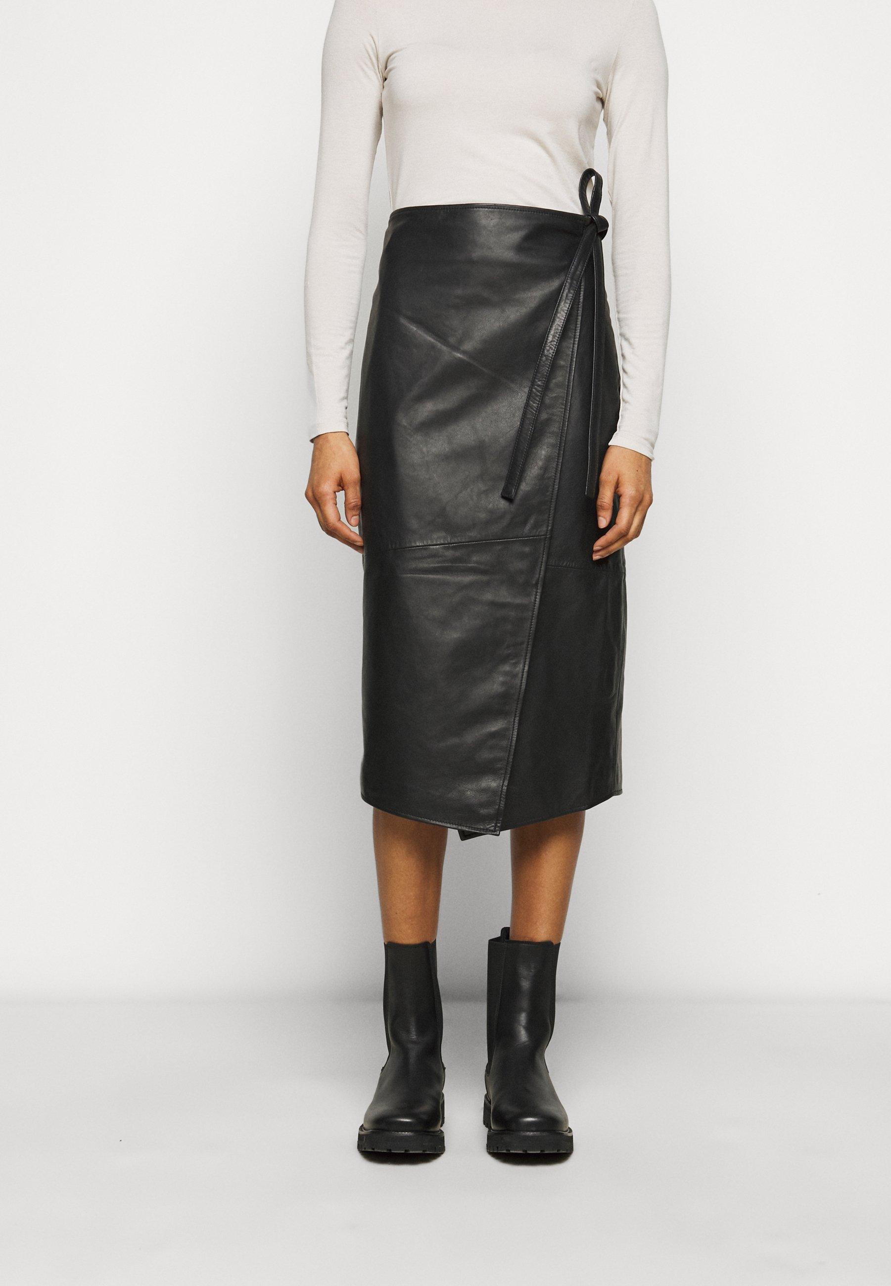 Women MURPHY - Leather skirt