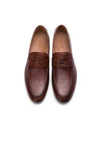 Kazar - SAKAR - Elegantní nazouvací boty - brown - 3