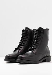 s.Oliver BLACK LABEL - Lace-up ankle boots - black - 4