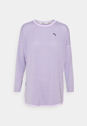 STUDIO GRAPHENE LONG SLEEVE - Camiseta de manga larga - light lavender