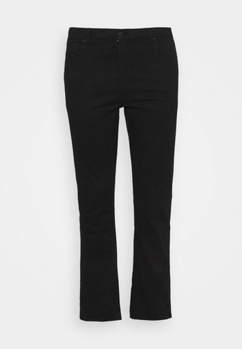 724 PL HR STRAIGHT - Straight leg jeans - black sheep