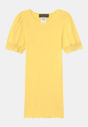 REGULAR - T-shirt print - vanilla yellow