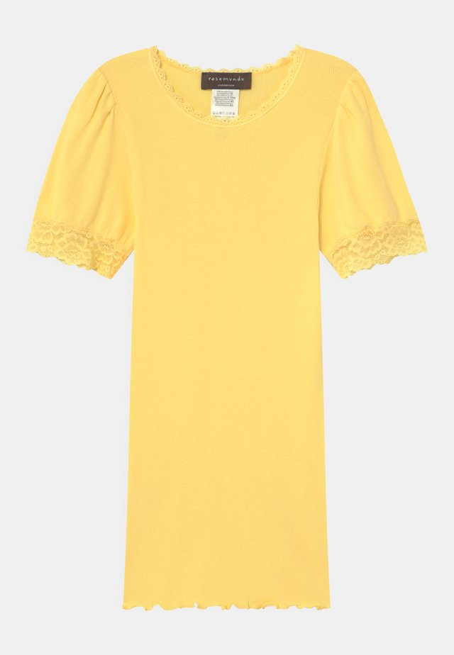 REGULAR - Camiseta estampada - vanilla yellow