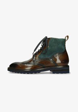 TREVOR  - Lace-up ankle boots - khaki