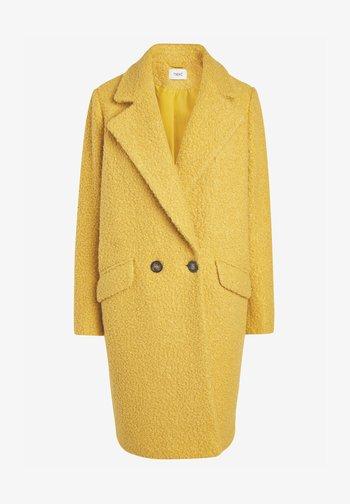 Klasyczny płaszcz - ochre