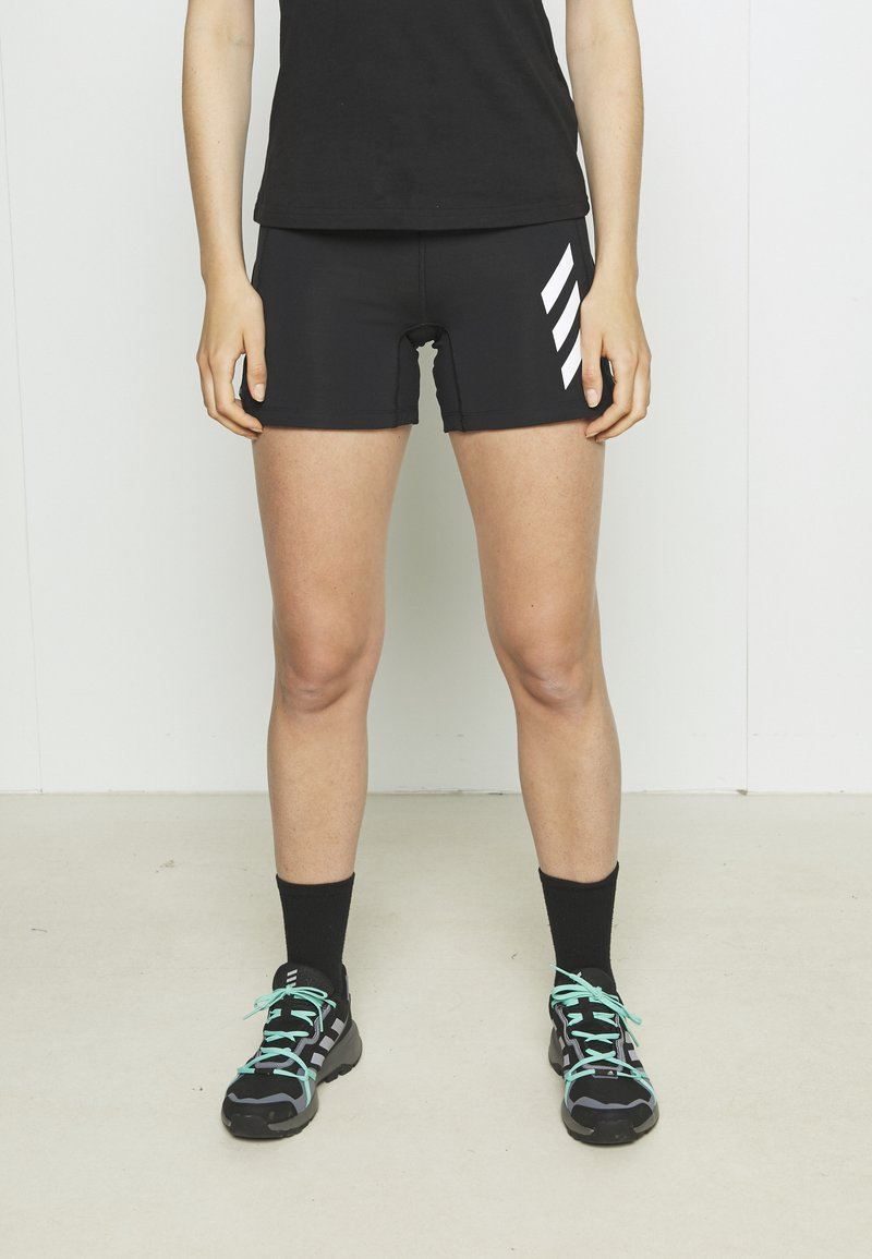 adidas Performance - AGRAVIC PRO SHORTS - Krótkie spodenki sportowe - black