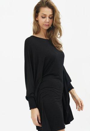 KAYLA  - Jersey dress - black