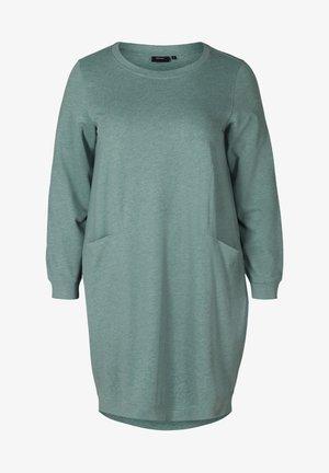 MIT TASCHEN - Robe en jersey - green