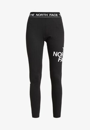 FLEX MID RISE - Legging - black/white