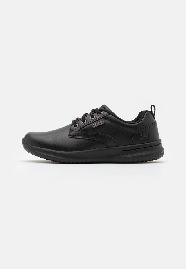 DELSON - Casual lace-ups - black