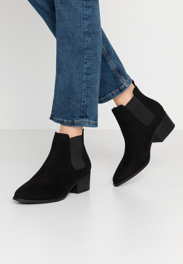 BRIXTON GUSSET - Ankle Boot - black