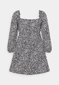 Missguided Plus - PLUS SIZE MILKMAID DRESS - Day dress - black - 1