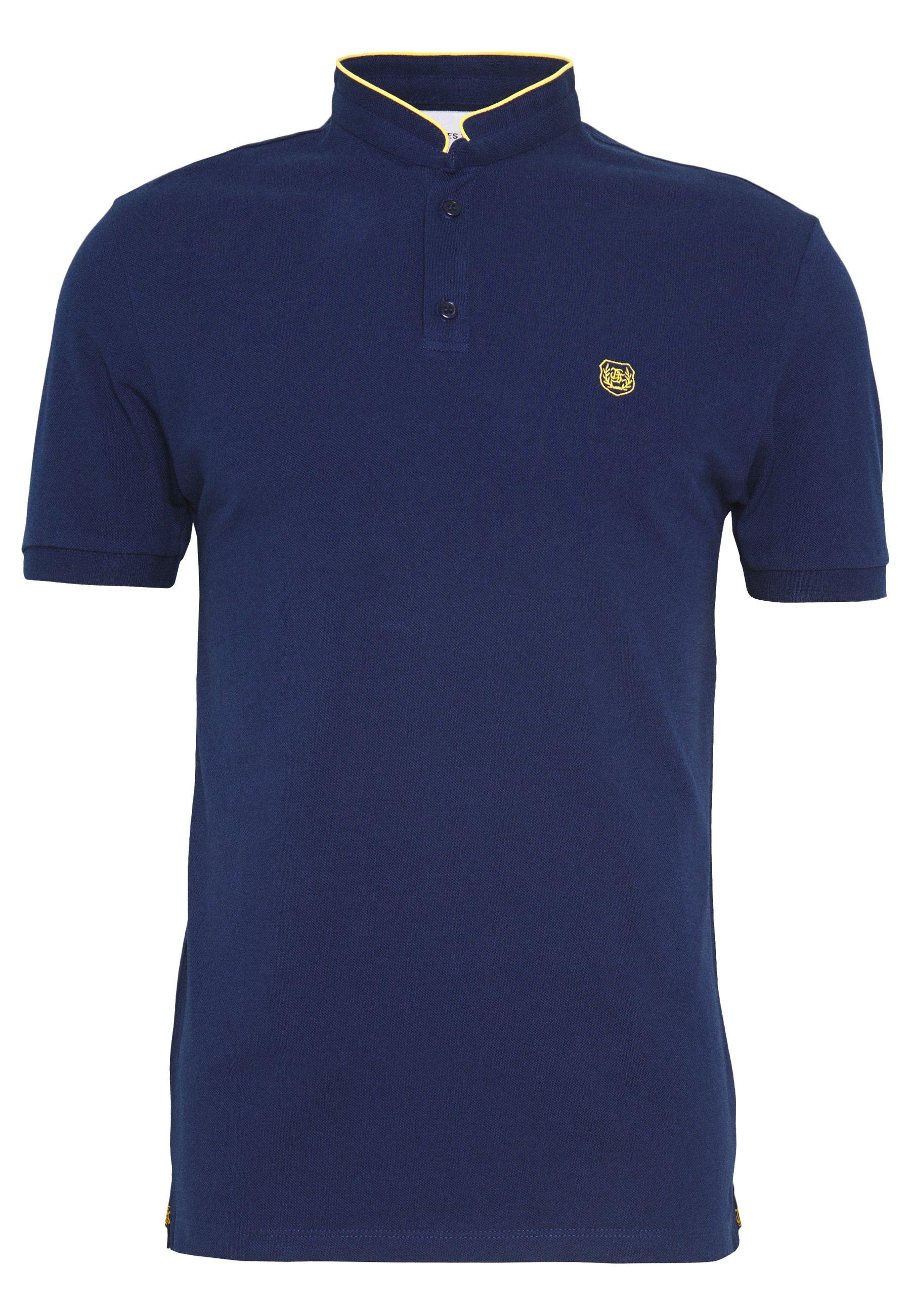 The Kooples T-shirt basique - officer navy/dandelion yellow