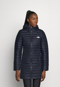 The North Face - W STRETCH DOWN PARKA - Down coat - aviator navy - 0