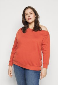 Even&Odd Curvy - Collegepaita - rust - 0