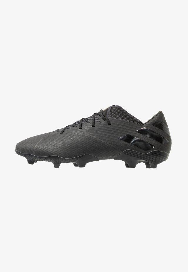 NEMEZIZ 19.2 FG - Fodboldstøvler m/ faste knobber - core black/utility black