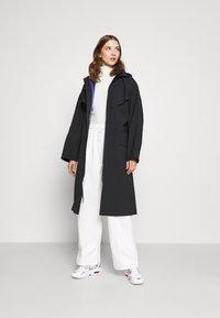 Nike Sportswear - Trenchcoat - black/lapis - 1