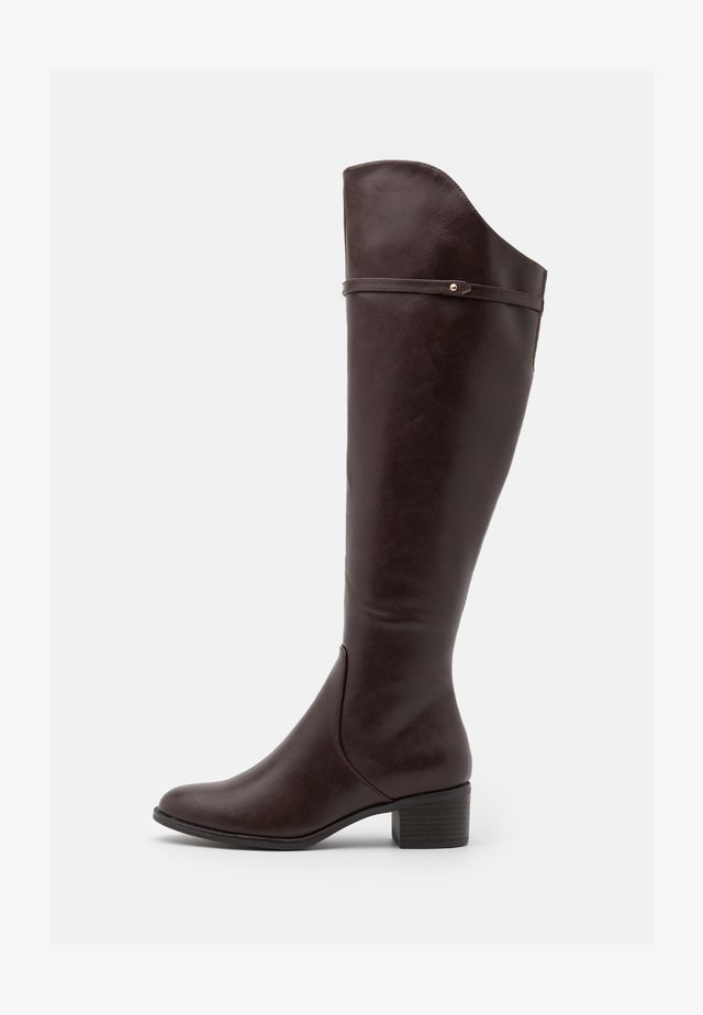 Botas mosqueteras - dark brown
