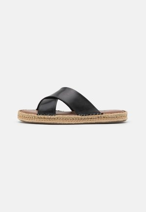 AMALFI - Pantofle - swiss black