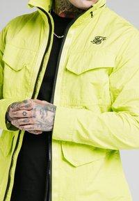 SIKSILK - Light jacket - fluorescent green - 3