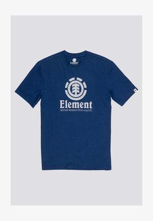 VERTICAL - T-shirt con stampa - blue depths