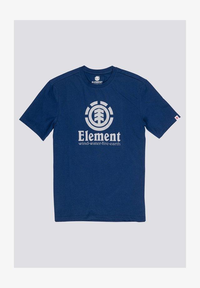 VERTICAL - T-shirt print - blue depths