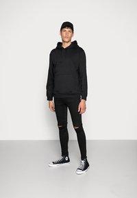 Gym King - DISTRESSED  - Jeans Skinny Fit - black - 1
