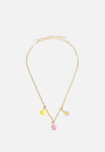 EXCLUSIVE KETTE MIT CHARMS - Necklace - multicoloured
