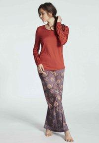 Mey - Pyjama bottoms - smokey rose - 1